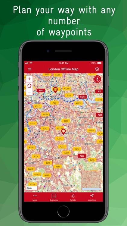 London Offline Map screenshot-8