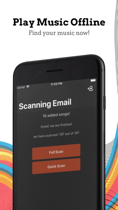 Screenshot for Email Music in United States App Store