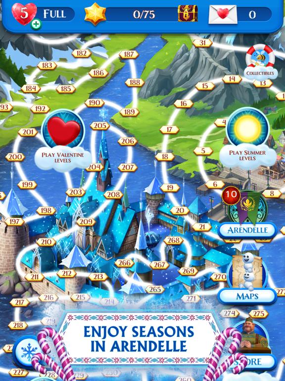 Frozen Free Fall screenshot