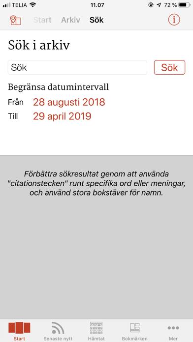 ETC tidningarna på PC