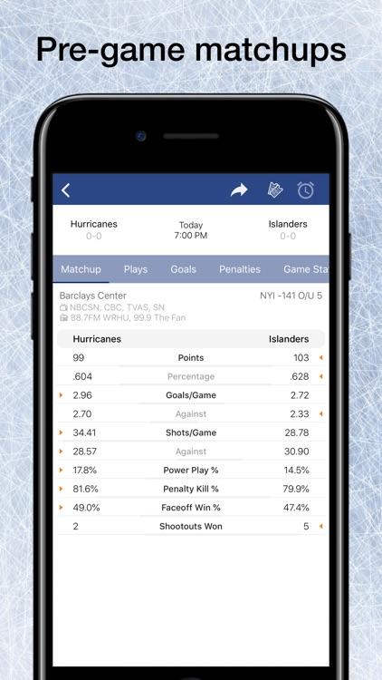 Scores App: Pro Hockey 2020 screenshot-4