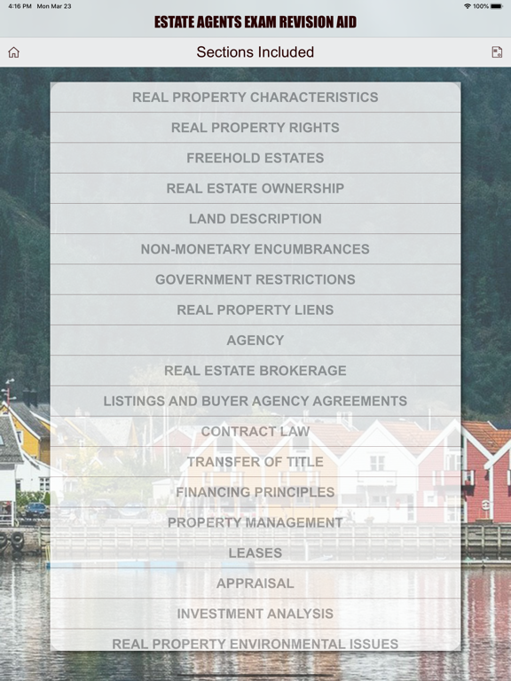 Estate Agents - Revision Aid screenshot 18