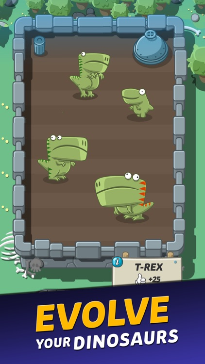 Crazy Dino Park screenshot-1