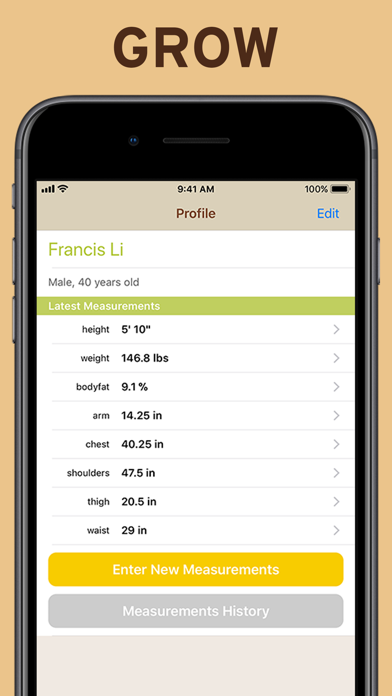 LiftRep: Gym Workout Tracker screenshot three