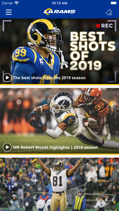 Los Angeles Rams screenshot four
