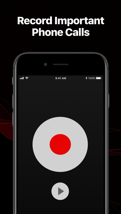 TapeACall Lite - Record Phone Calls. Call Recorder For Interviews on iPhone screenshot