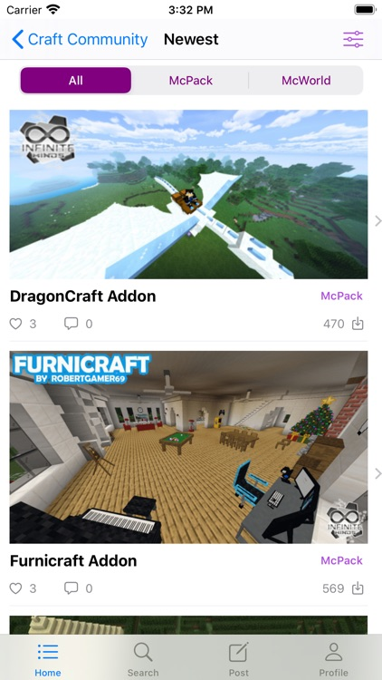 Addons for Minecraft Community screenshot-1