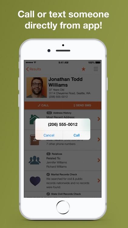 Reverse Phone Lookup Intelius screenshot-5