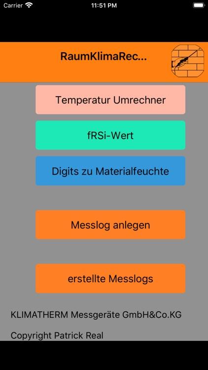 RaumKlimaRechner Pro screenshot-7