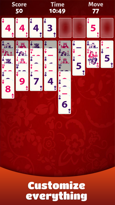 FreeCell Solitaire - Classic screenshot two