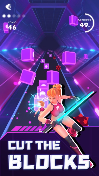 Beat Saber ! - Rhythm Game screenshot 5