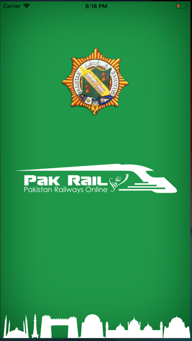 Screenshot for Pak Rail Live in United States App Store
