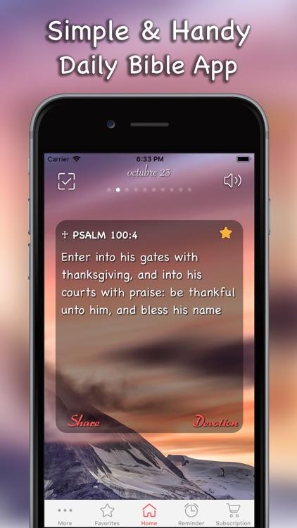 Daily Bible Inspirations Verse screenshot-6
