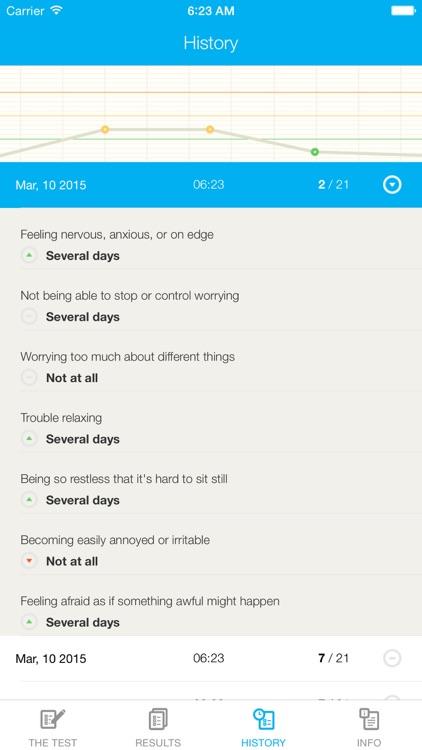 Anxiety Test GAD-7 screenshot-3