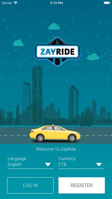 ZayRide Passenger