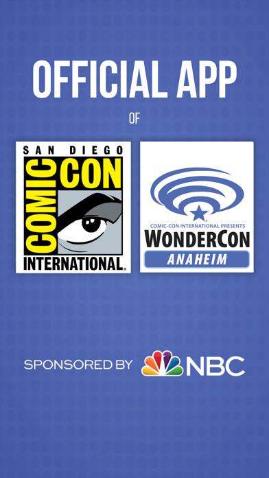 Official Comic-Con App screenshot one