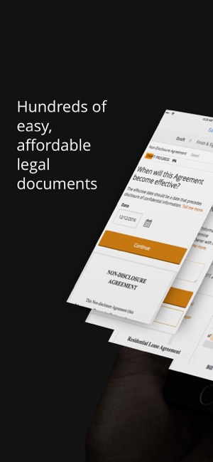Rocket Lawyer Legal Documents On The App Store