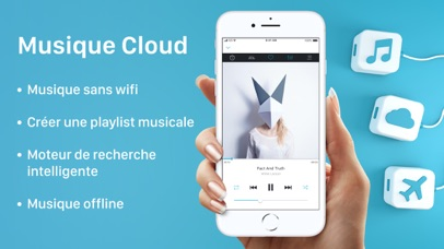 Screenshot for Musique player sans wifi in France App Store