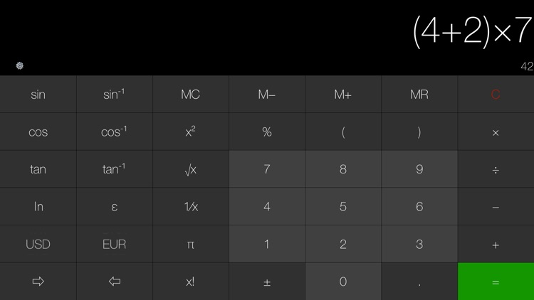 My Calculator (incl. currency) screenshot-5