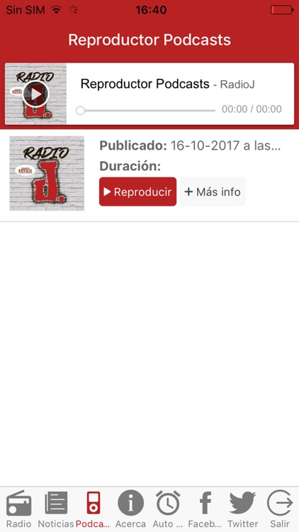 Diario JAÉN Radio – Radio J. screenshot-2