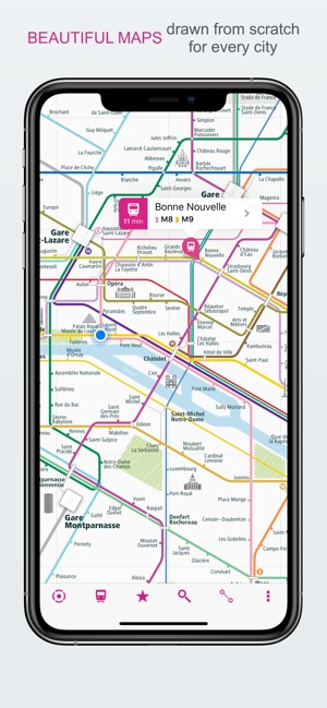 City Rail Map - Travel Offline on the App Store