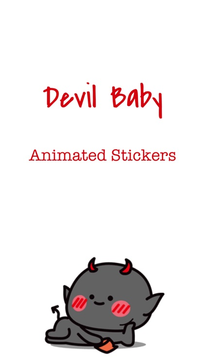Funny Devil Animated Stickers screenshot-0