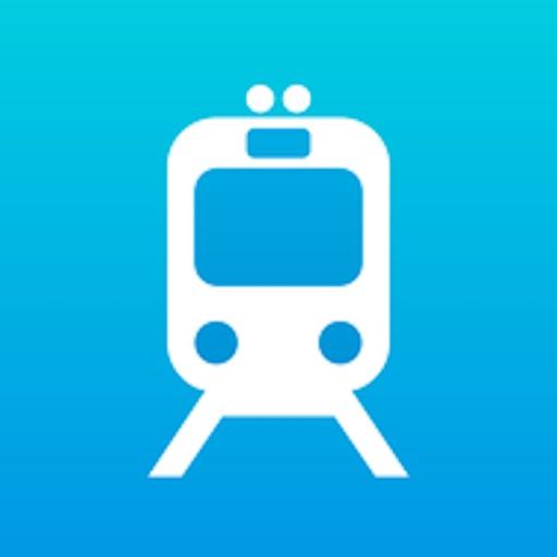 My Train Trip by Stella Kovalchuk