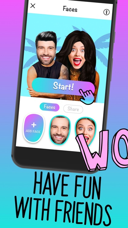 Faces - video, gif for texting screenshot-3