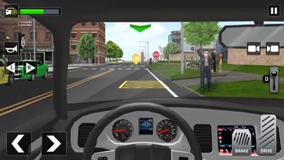 シティタクシードライバーシミュレーター 3Dのおすすめ画像6