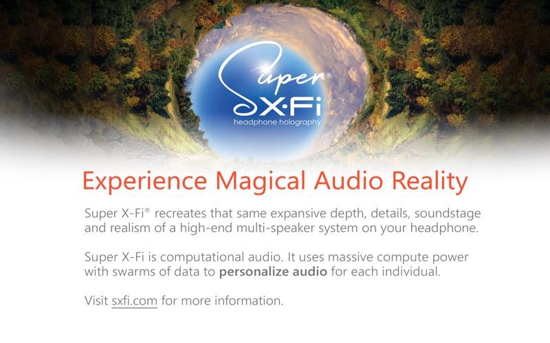 SXFI App for Mac