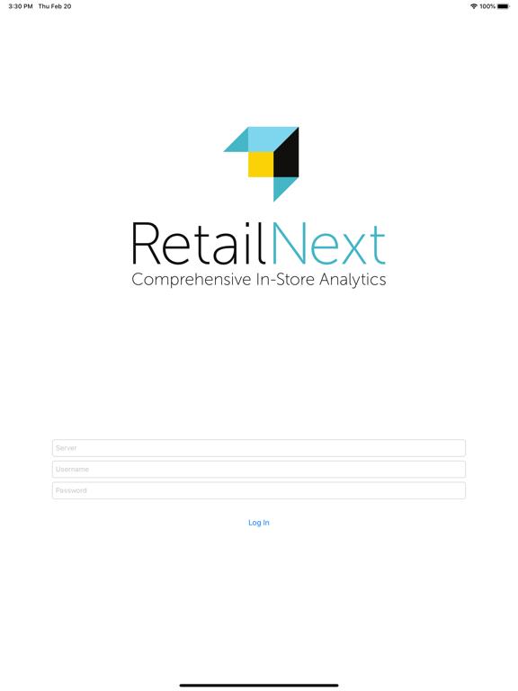 RetailNext screenshot