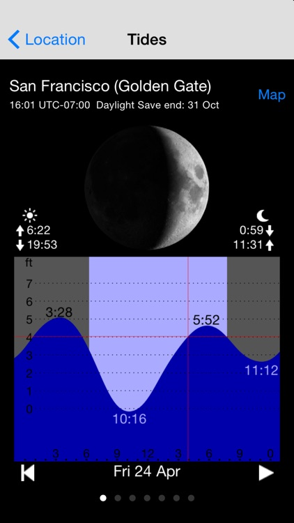 Tide Table Chart screenshot-3