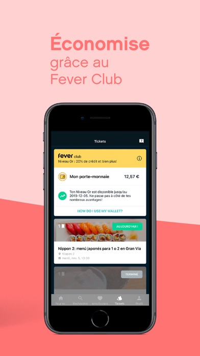 Screenshot #3 pour Fever - Discover, Book, Enjoy