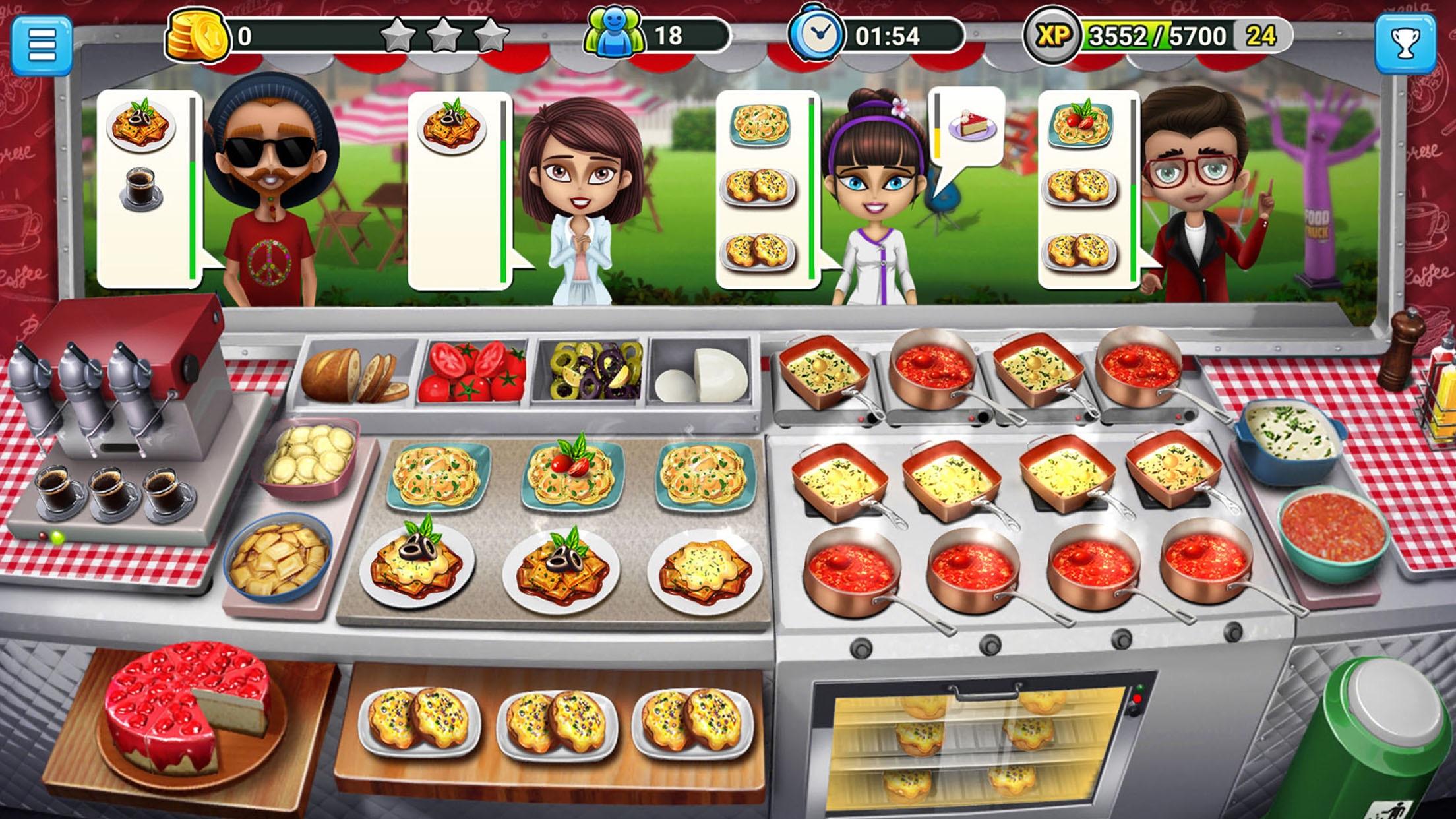 طاهي شاحنة : بيع الطعام Screenshot