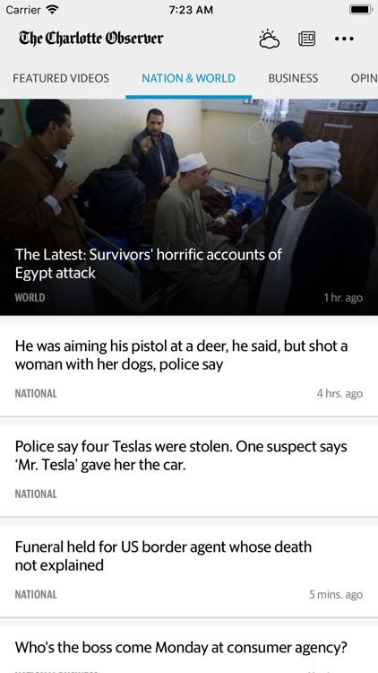 The Charlotte Observer News screenshot-3