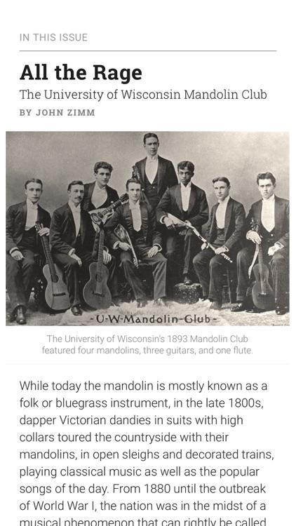Wisconsin Magazine of History screenshot-4