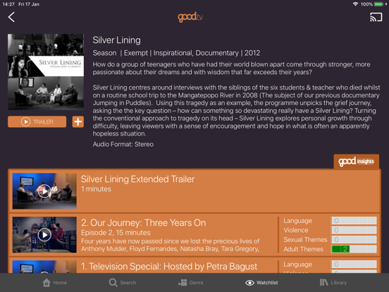 Ipad Screen Shot Good TV 2
