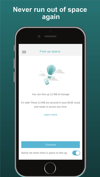 BASE cloud screenshot-3