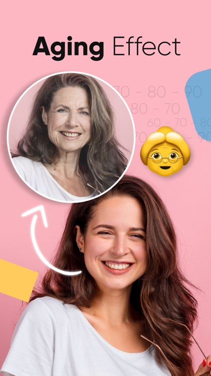 FunnyFace - Aging & Ethnicity screenshot-3
