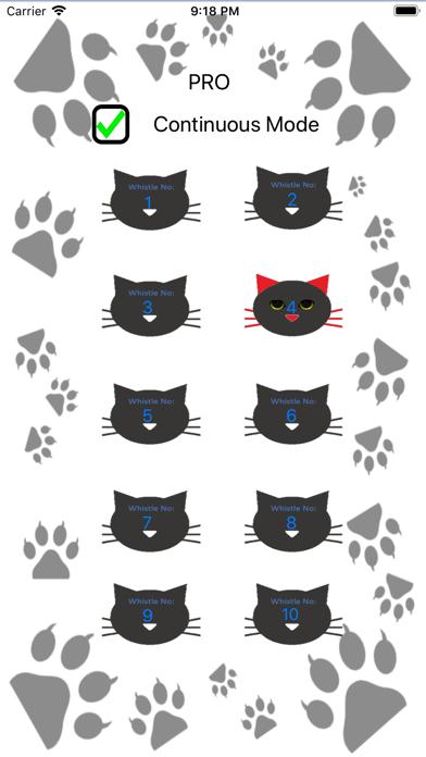 Cat Whistle Pro app image