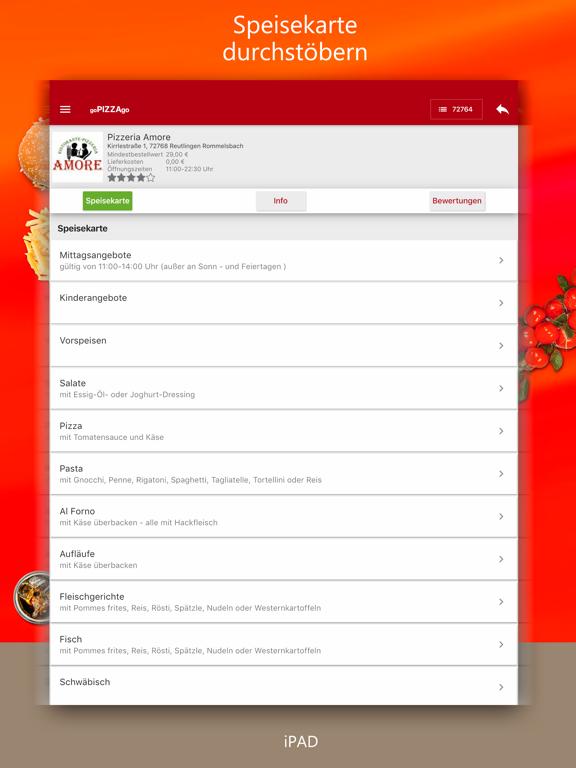 goPIZZAgo - Essen bestellen screenshot 11