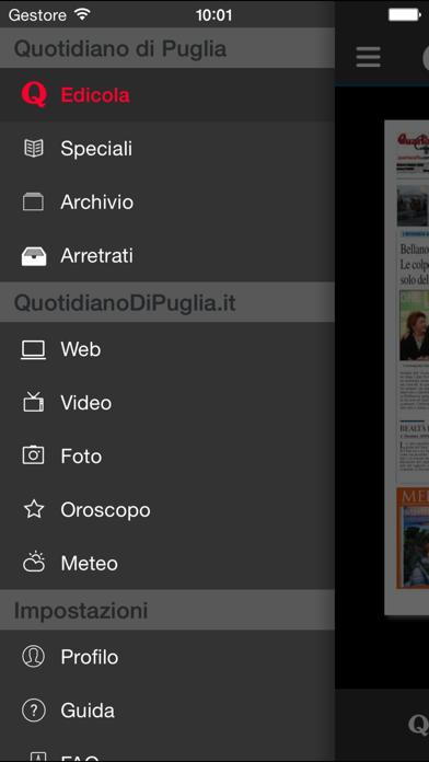 Quotidiano di Puglia screenshot three