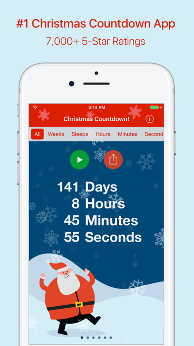 Christmas Countdown! screenshot one