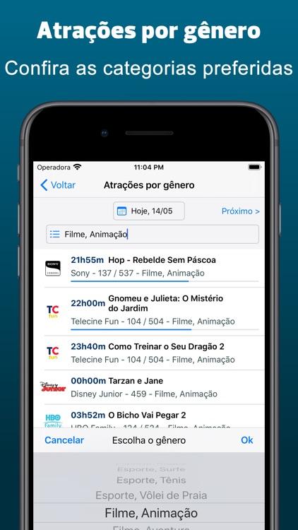 Guia TV Fácil - Programação TV screenshot-4