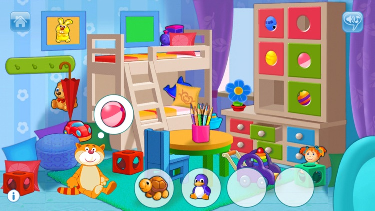 Playroom for kids and toddlers