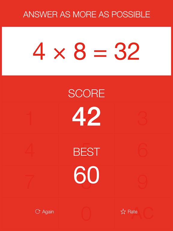 Math Hero - Basic Mathematics Competition Game screenshot
