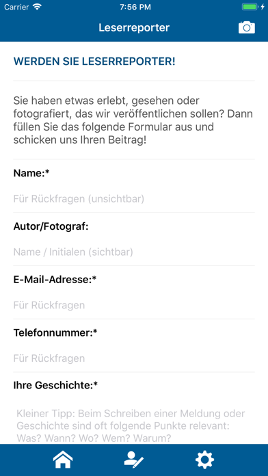 Kreiszeitung.de screenshot two