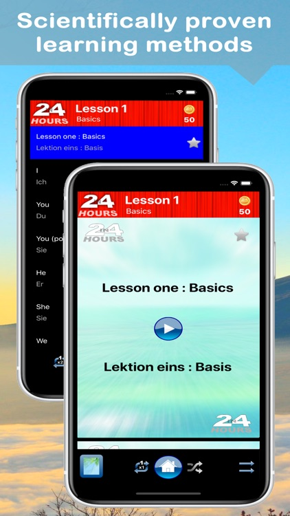 In 24 Hours Learn German screenshot-1