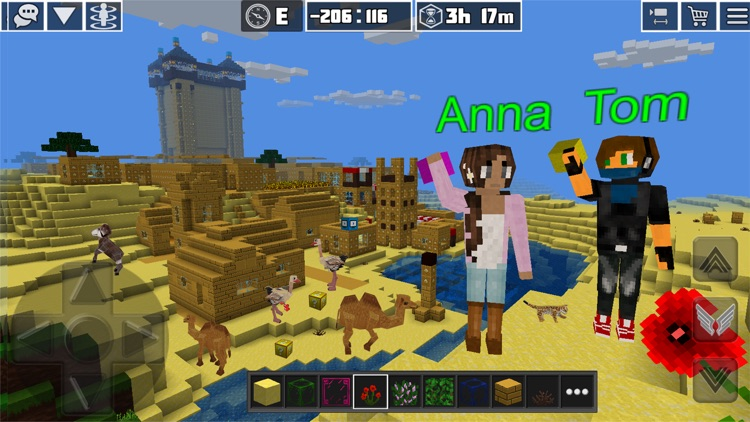 PlanetCraft: Block Craft Games screenshot-3