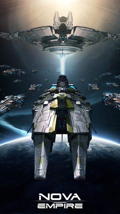 Nova Empire: Raumschiff KriegScreenshot von 1